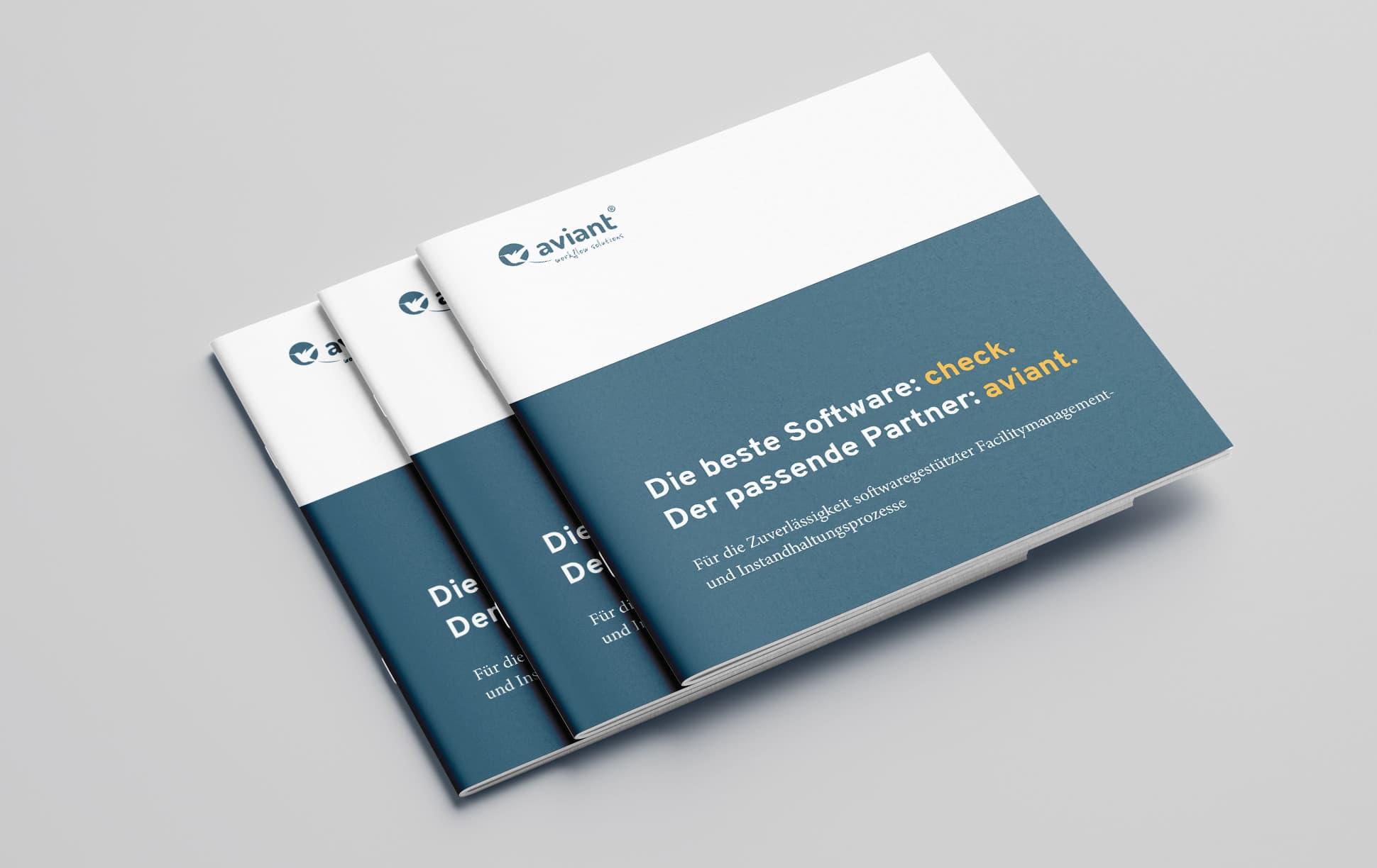 Imagebroschüre aviant GmbH